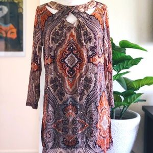 INC International Concept Paisley Blouse